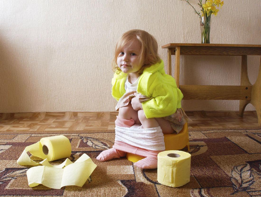 туалет в детском саду