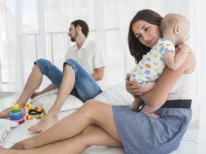 Как сберечь брак после рождения ребенка