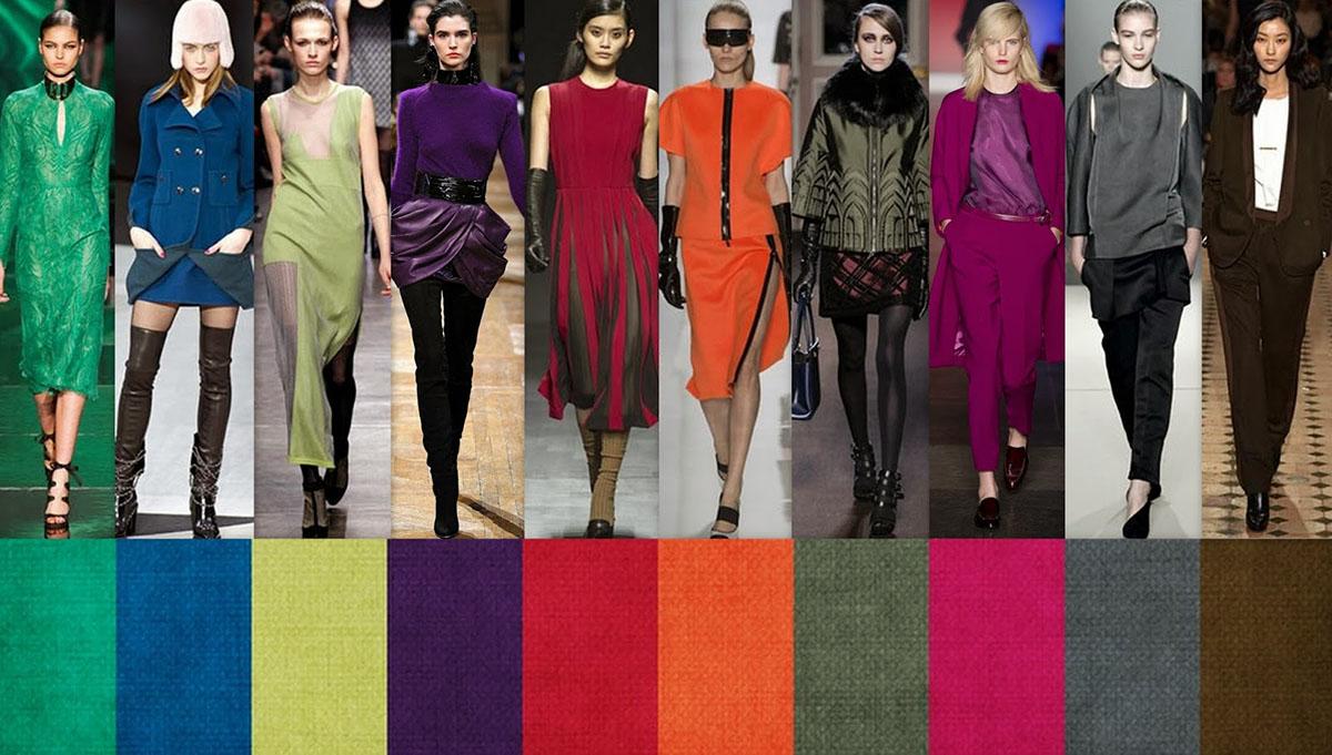 Модные цветовые новинки 2018 года