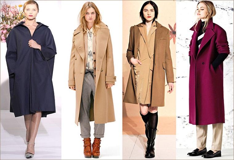 Модное и стильное пальто
