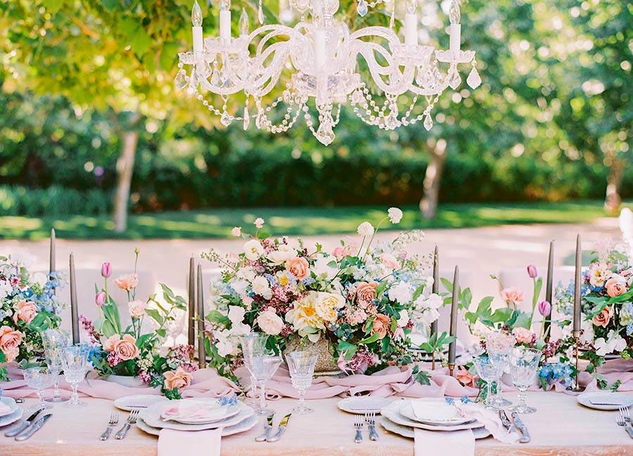 свадебные тренды посуда