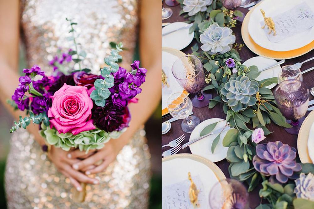 свадебные тренды цветы