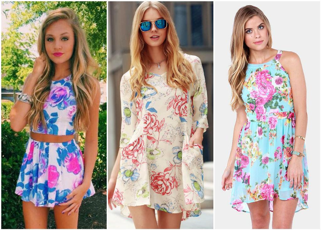 Романтичные летние платьица