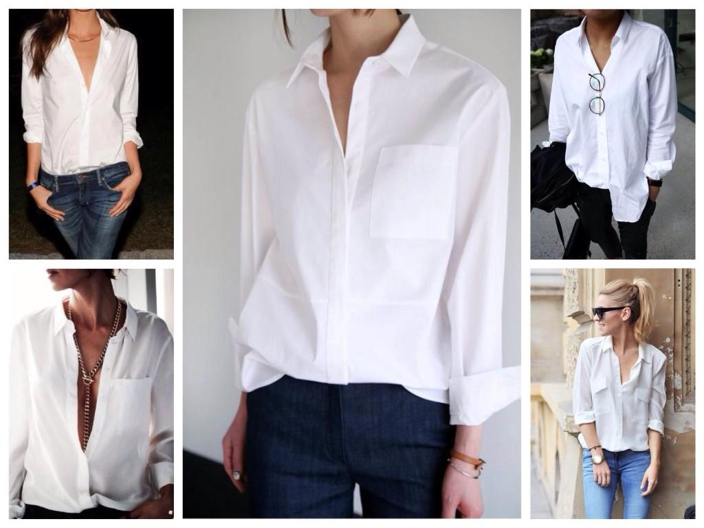 Предмет из мужского гардероба. Как носить белую рубашку