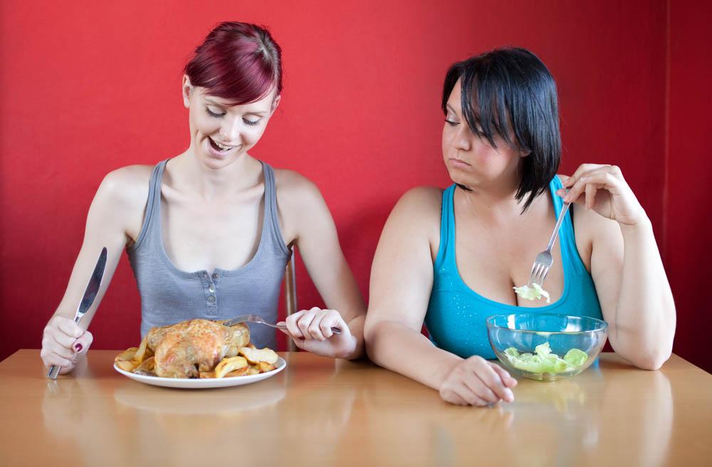 Больше еды - меньше килограммов. Возможно ли?