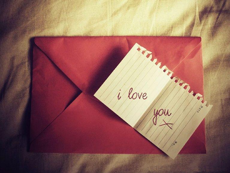 Письмо любимому человеку