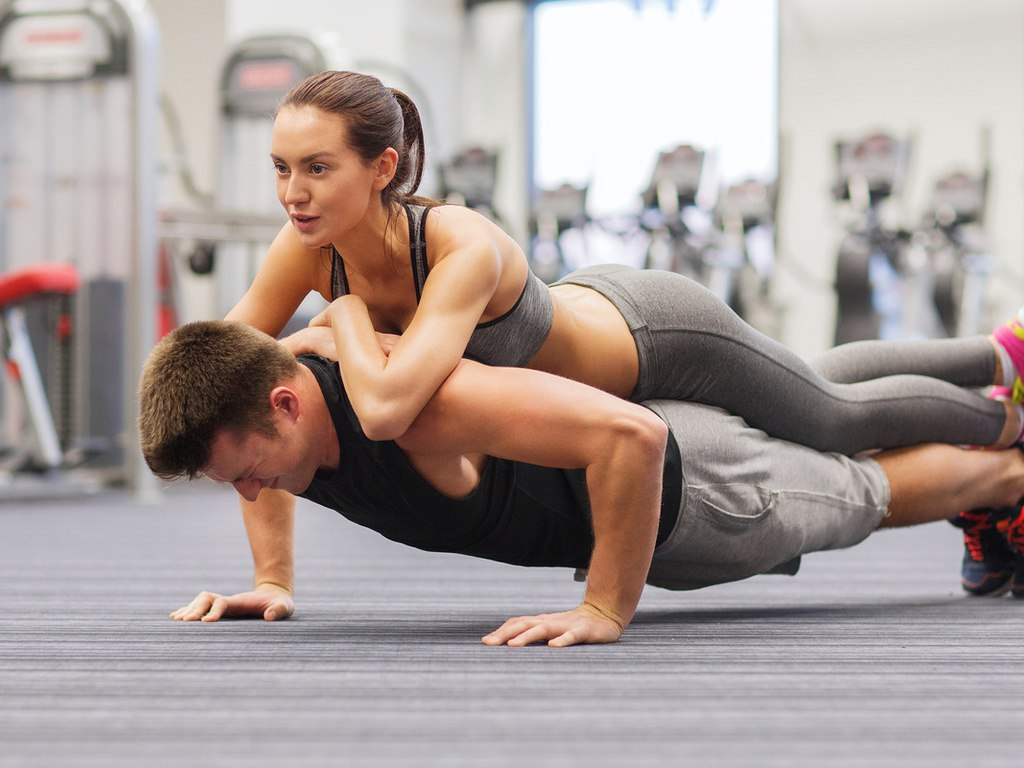 Тренировки совместные с партнером